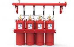 Extinción gas químico HFC227ea