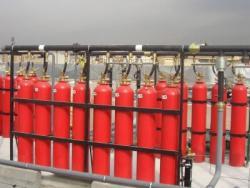 Extinción gas NOVEC 1230